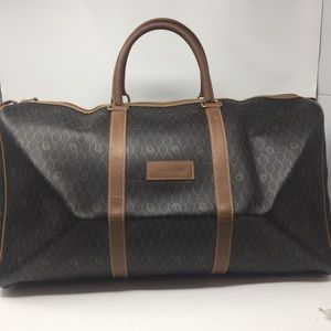 Preowned Authentic Christian Dior Travel bag